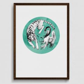 Bernát Barbara - A tigris és a gém